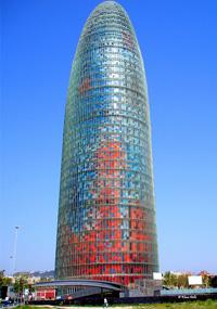 Vuelos Baratos a Barcelona: Torre Agbar