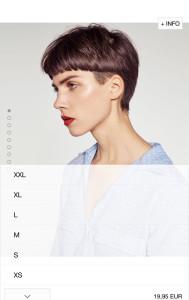 moda de zara xxl